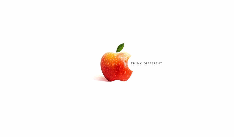 apple, ecran, fonds, оригинал, widescreen, logo,