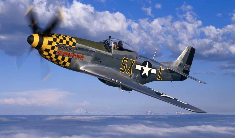 mustang, north, американский, истребитель, авто, ford, самолёт, самолеты,