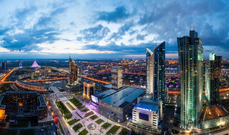 astana, панорама, kazakhstan, города, астане, house,