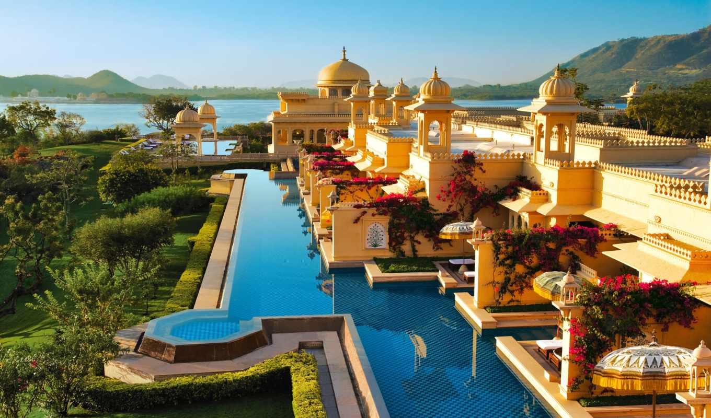 oberoi, hotel, india, udaivilas, самых, отели, jaipur, отелей, top, goa,