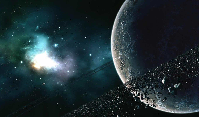 пояс, астероиды, звезды, планета, космические, космос, камни, альбом,