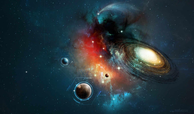 планеты, звезда,