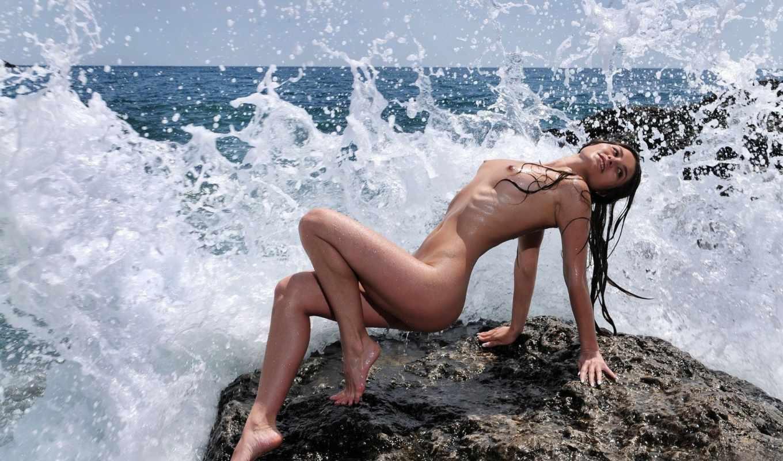 девушки, красавица, девушка, голая, обнаженная, секси, море, красоты, эротика,