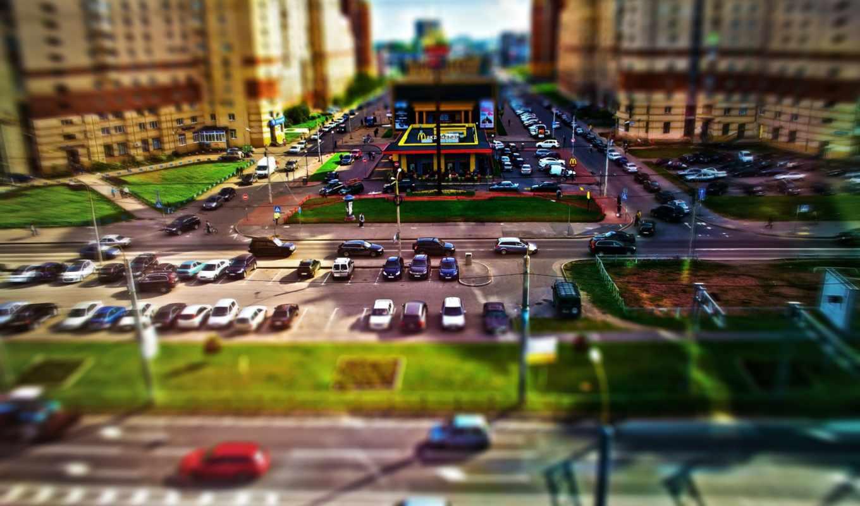 макдональдс, город, машин, игрушечных, машина, toy, янв, смотреть,