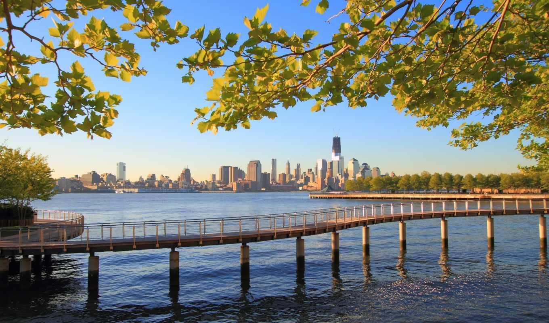 york, new, нью, город, water, ocean, природа, нбомкребы, manhattan, день,