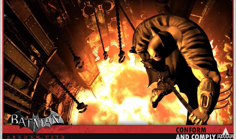 Batman, Arkham, Action