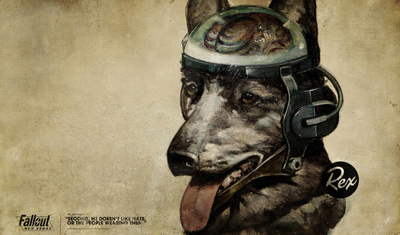 fallout, vegas, new, rex,