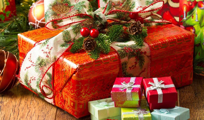 год, new, сувениры, christmas, истинном, обою, подарков, смотреть, размере, праздники,