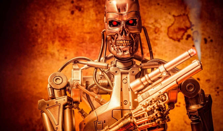терминатор, robot, toy,