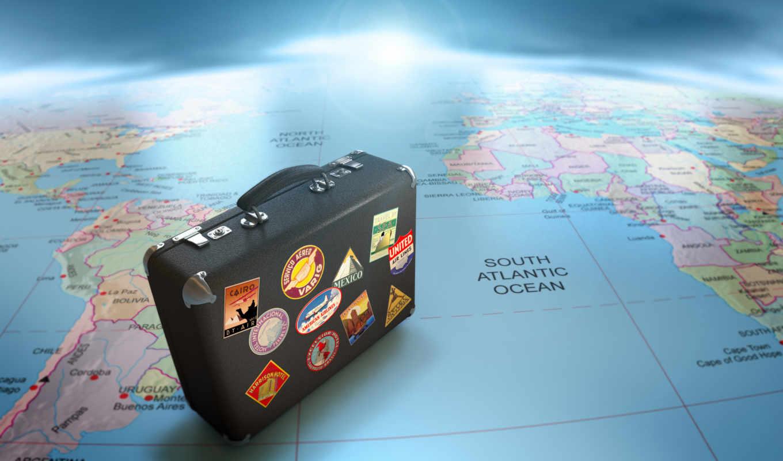 путешествие, чемодан, глобус, карта, стран, если, может, быть, cart, туристов, европе, континента, восемь, же, пользу, востоке, выбор, отдых, доступным, сделать,