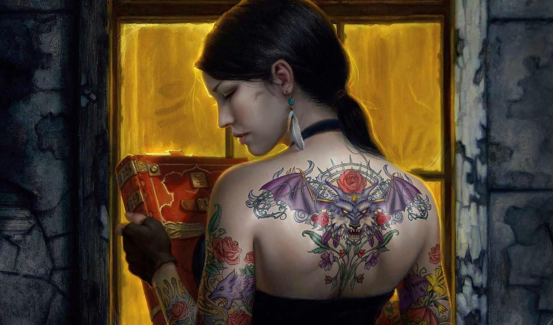 татуировки, татуировка, тату, browse, девушка, спина,