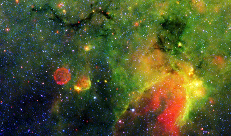 космос, газ, туманность, зеленое, картинка, galactic, картинку, snake, plane, similar,