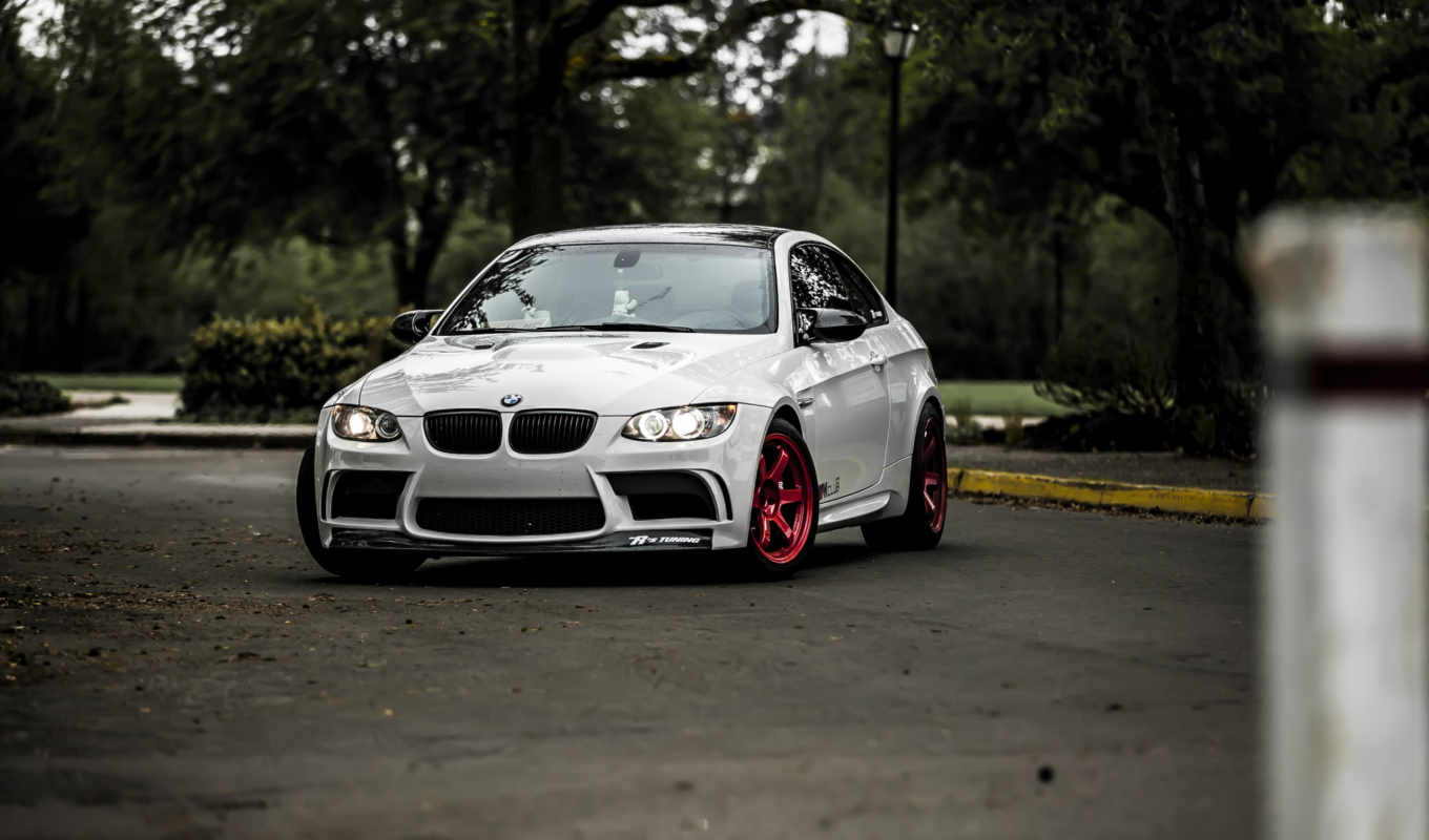 bmw, white, pictures, tuning,