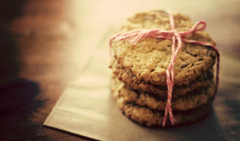 печенье, makro, ниточка,