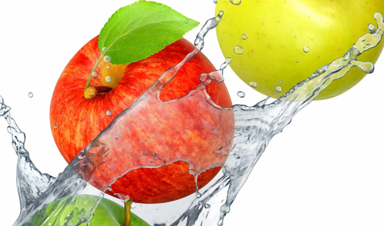 water, splash, fresh, drops, картинка, fruits, ягоды, фрукты, клубника,