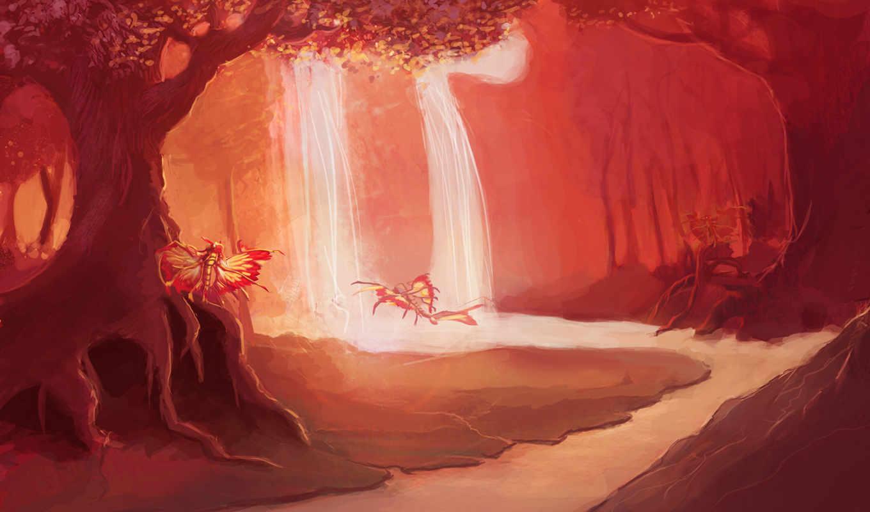 eversong, woods, музыка, осень, wow,
