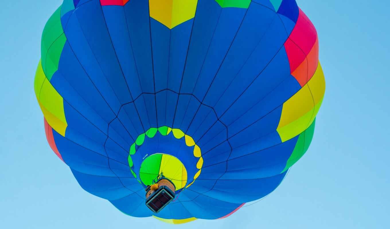 balloon, air, мяч, авиация, небо, hot, weed, корзина, полет