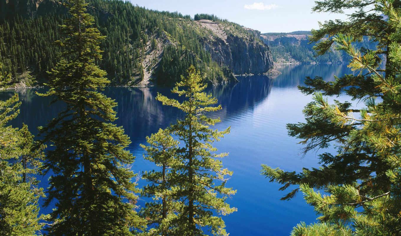 ozero, озеро, park, крейтер, национальный, national, oregon, crater,