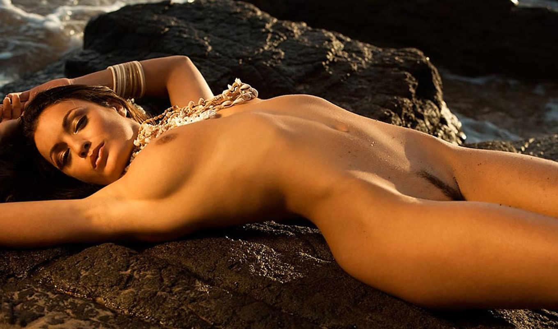 garcia, jo garcia, голая, playboy, шатенка, грудь,