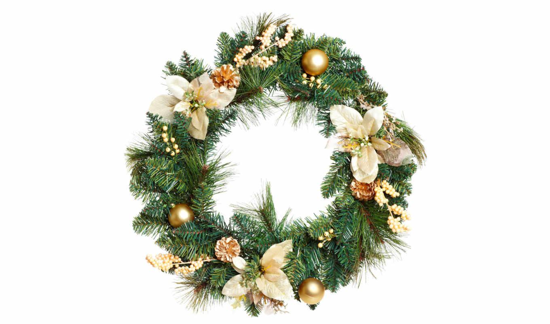 christmas, венок, рождественский, decoration, цветки, tree, garland, картинка, isolated, over, background, white, stock, wreath, photo, ней, выберите, картинку, save, as, мыши, кнопкой, скачивания, ar