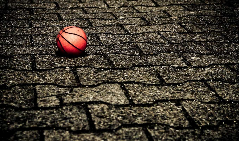 basketbol, мячь, спорт, плитка, поверхность,
