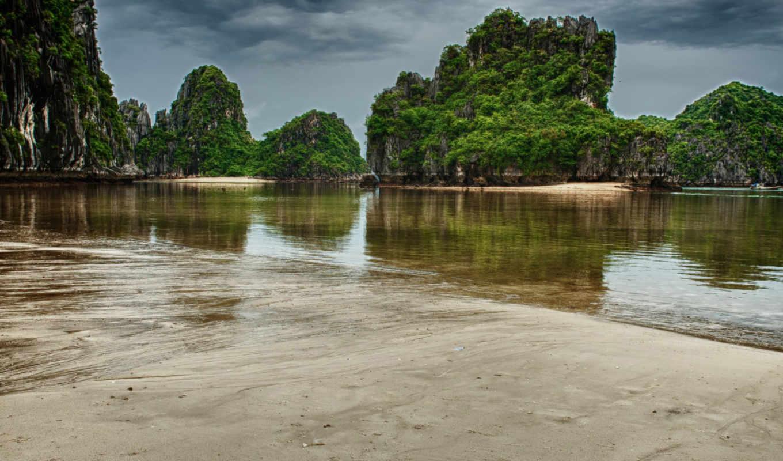 vietnam, halong, изображение, природа, desktop, море, cove, free, фото,
