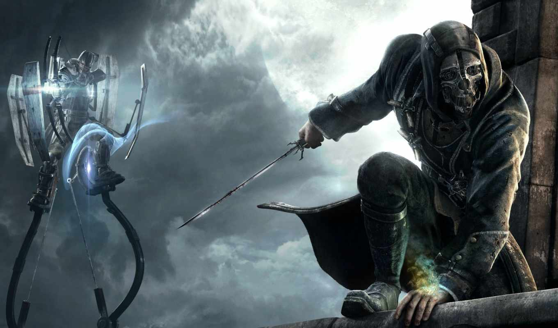 dishonored, dlc, character, dunwall, trials, city, bethesda, studios, vk, arkane, designer, smith, game,