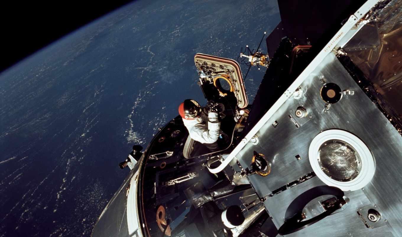 астронавт, apollo, nasa, земля, картинка, картинку, правой, кнопкой,