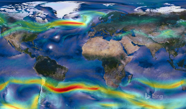 winds, нов, map, nasa, earth, ветер, global,