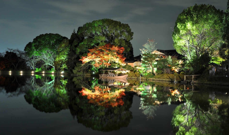 природа, широкоформатные, япония, графика, фэнтези,
