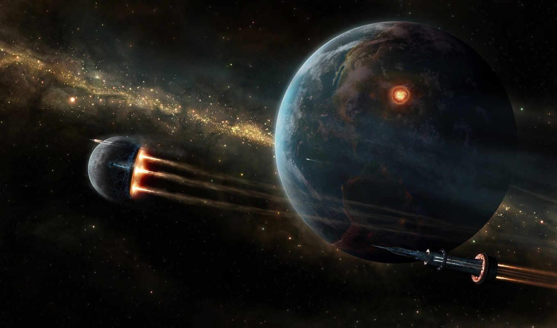 cosmos, звезды, бмп, planet, корабль,