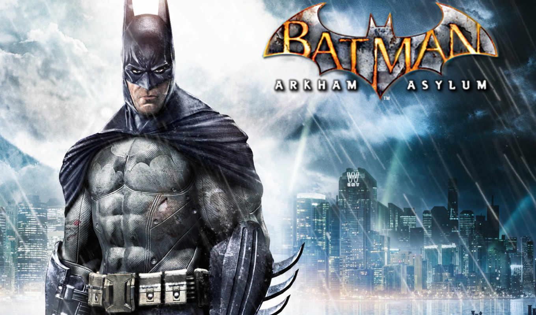 batman, arkham, asylum, game, игры,