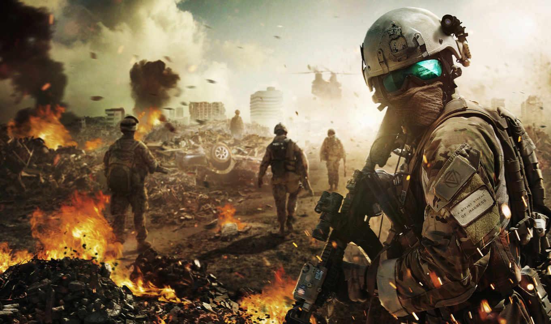 battlefield, desktop, солдат, июл, high, this, fondos,