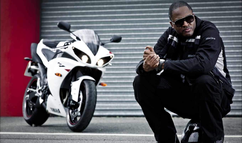 taio, cruz, певец, куртка, шлем, мотоцикл, сидя, мужчина, yamaha,