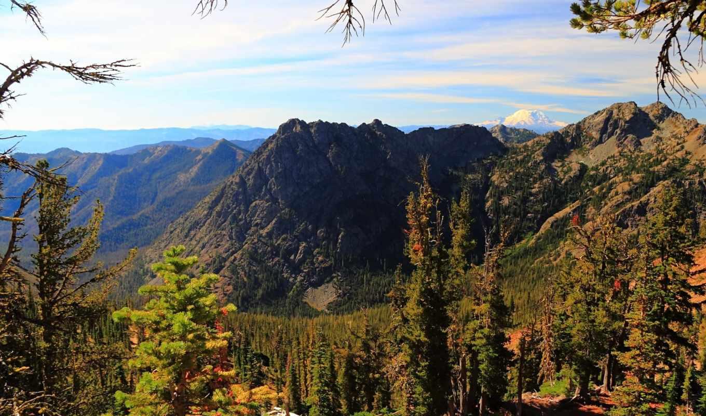 картинка, горы, природа, landscape, usa,