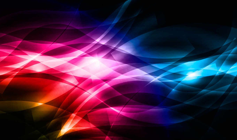 линии, яркость, изгибы, прозрачность, полосы,