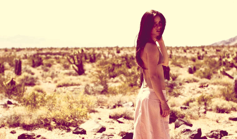 пустыня, девушка, настроения,