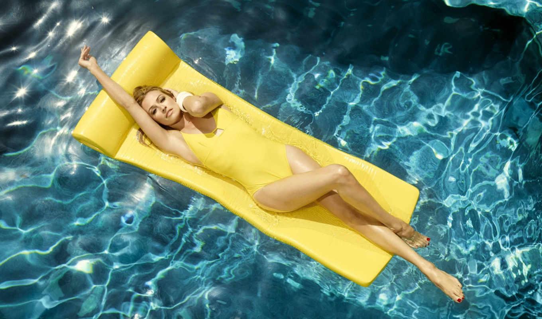 ,девушка, купальник, бассейн,