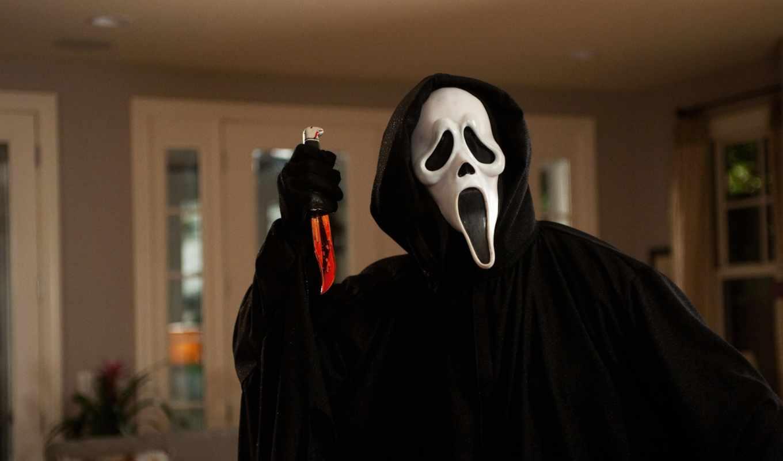 убийца, нож, cry, ужас, scream, movie, scary, сниматься,