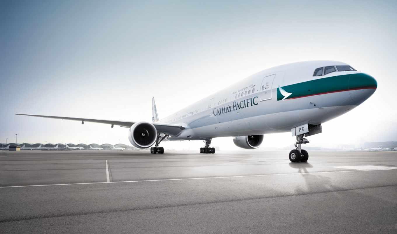 cathay, pacific, авиакомпании, hong, kong, обслуживает,