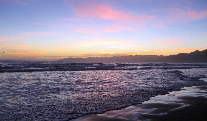 sunset, summer,
