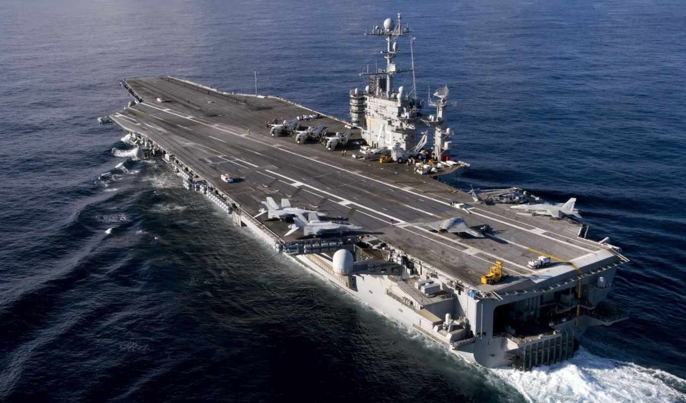 carrier, sea, uss, first, harry, air, combat, unmanned, system, truman, aircraft, navy, طائرات, aboard, demonstrator, ucas, phase, test,