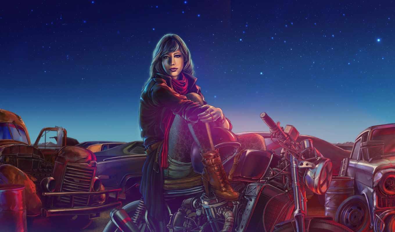 art, bike, об, девушка, cars, изображение, girls, велосипед,