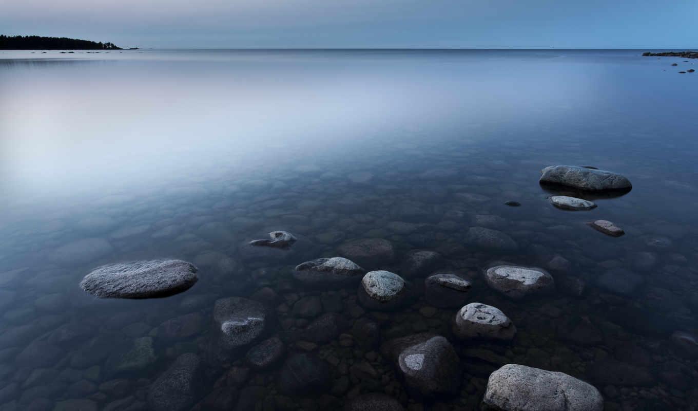 sweden, this, озеро, берег, вечер, water, you, гладь, resolution, найти,
