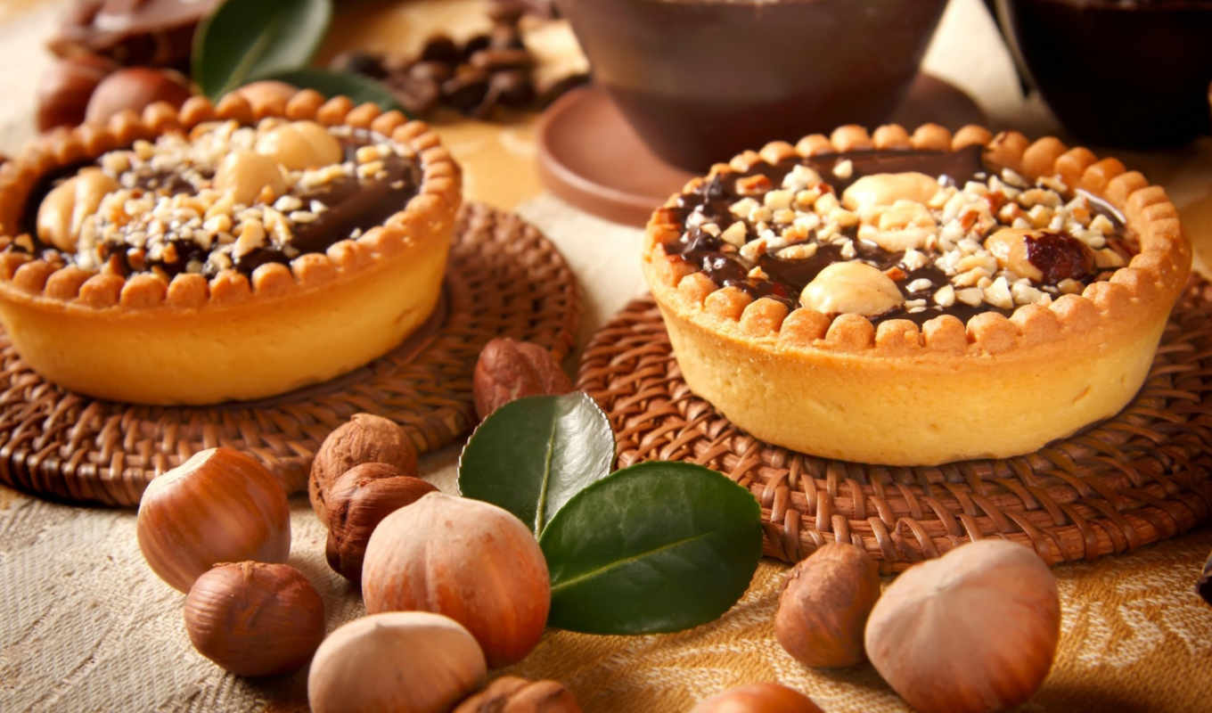 chocolate, nuts, home, десерт, плакат, posters, купить, sweets, tartlets, лес,
