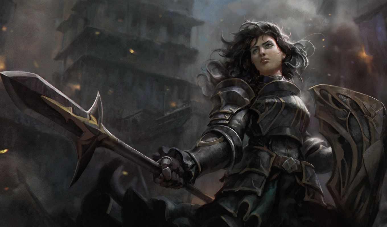 hope, rise, spear, warrior, female, сервере, трансляция, вестись, между, vk, youtube, будет, кланами, осады,