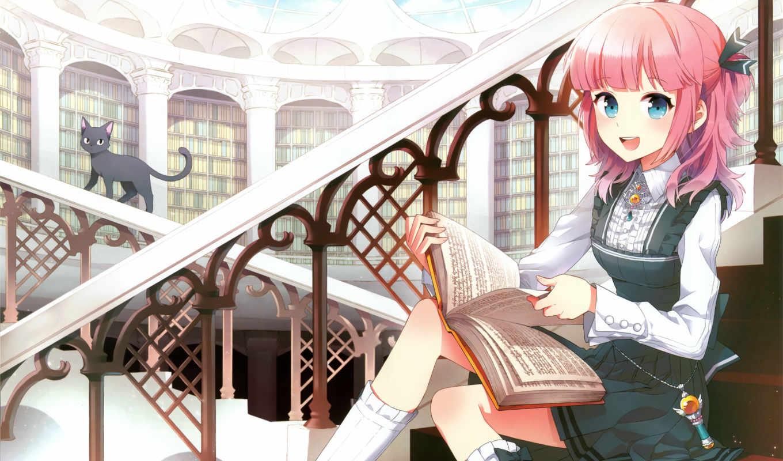 anime, янв, девушка, love, крутое, себе, бабочки, girls, за, но, книгу, только,