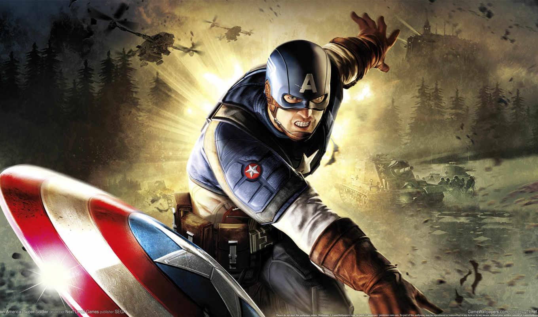 captain, america, супер, солдат, game,