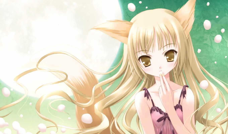 аниме, hair, neko, девушки, girls, картинок, fotoalbum, original, blonde,