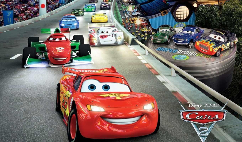 тачки, cars, pixar, молния, трек, спорткары, disney,